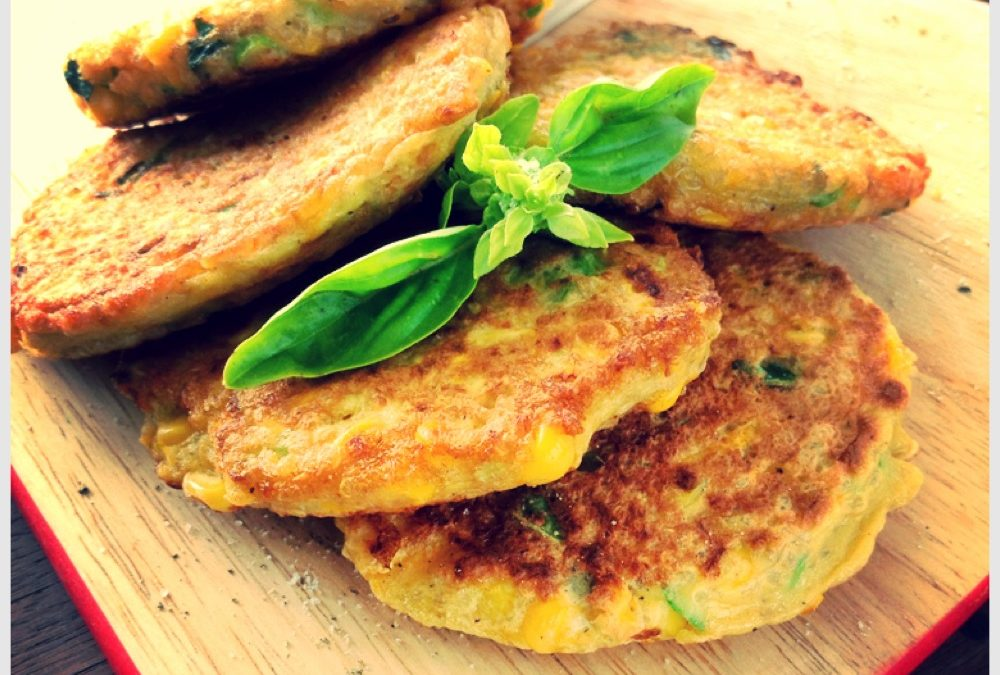 Corn and Quinoa Fritters